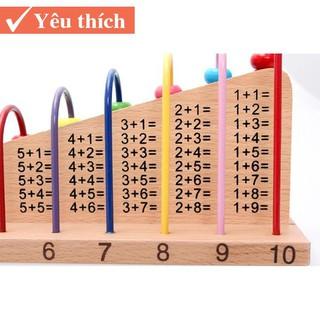 [Sản phẩm Hót] Bộ học toán Thông Minh cho bé loại 1 Có 55 Hạt