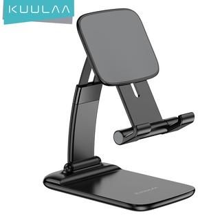 Giá Đỡ Máy Tính Bảng / Điện Thoại Kuulaa Kl-O162 Điều Chỉnh Kích Thước Làm Từ ABS+PC Để Bàn Làm Việc