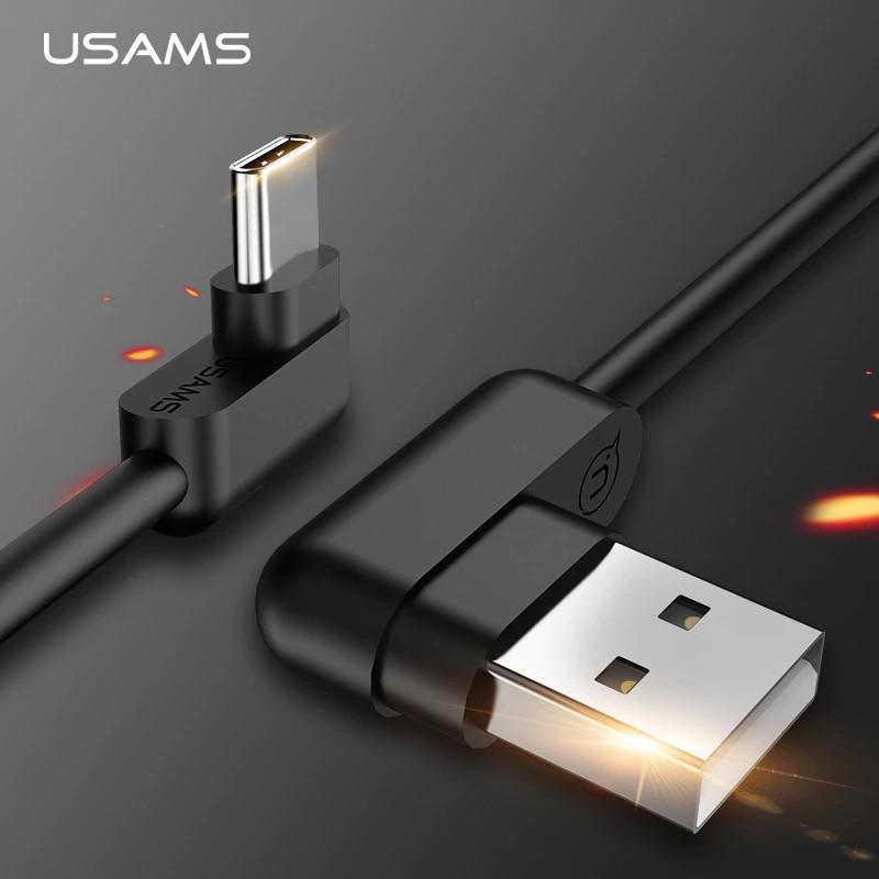 Dây cáp sạc dữ liệu USB loại C chữ L chất lượng cao