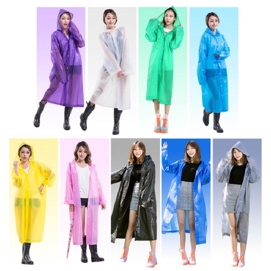 GIAO MÀU NGẪU NHIÊN] Áo mưa eva thiết đơn giản nhỏ gọn tiện lợi - Áo mưa  thời trang nam nữ | Shopee Việt Nam