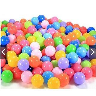 100 bóng nhựa 5cm nhiều màu cho bé