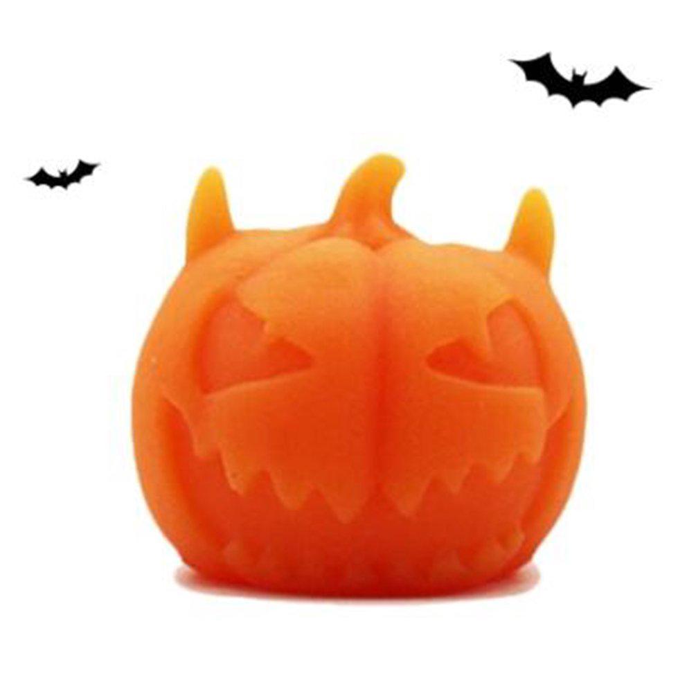 1Pcs Soft Glue Pumpkin Toy Healing Squeeze Stretch Cute Toy Relieve Stress