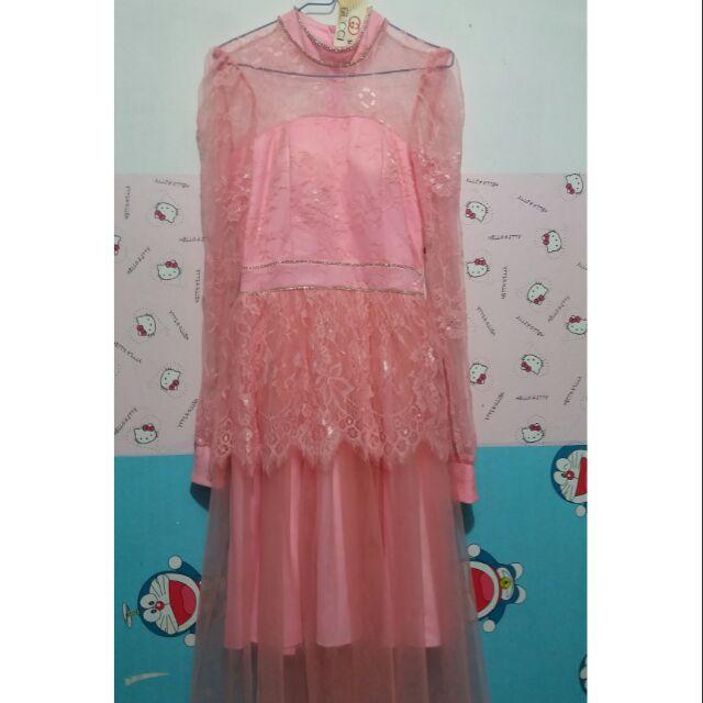 1594786133 - Sale sale...Đầm thiết kế...đầm công chúa màu hồng(dạng đầm nhã phương)