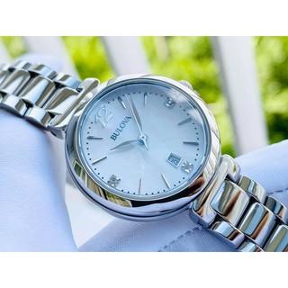 Đồng hồ nữ Bulova 96P149 khảm trai thumbnail