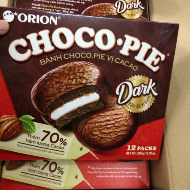 |Bánh Hộp Orion| Chocopie Dark 70% Cacao 360g - 9922919 , 642158472 , 322_642158472 , 48000 , Banh-Hop-Orion-Chocopie-Dark-70Phan-Tram-Cacao-360g-322_642158472 , shopee.vn , |Bánh Hộp Orion| Chocopie Dark 70% Cacao 360g