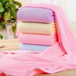 (SỈ)Bộ 10 Khăn tắm siêu mềm cao cấp kt 70x140cm (Nhiều màu)