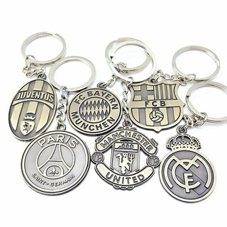 Móc khóa các CLB bóng đá Manchester united juventus chelsea arsenal liverpool real barcelona manchester city