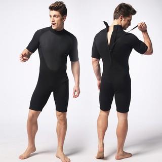 Bộ đồ lặn biển liền thân cộc tay nam MY021 dày 3mm, giữ ấm cơ thể, quần áo lặn biển nam POPO, ngăn nước SPORTY thumbnail