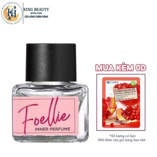 Nước hoa vùng kín hương trái cây dịu ngọt Foellie Eau De Innerb Perfume 5ml - Fleur (chai màu hồng)