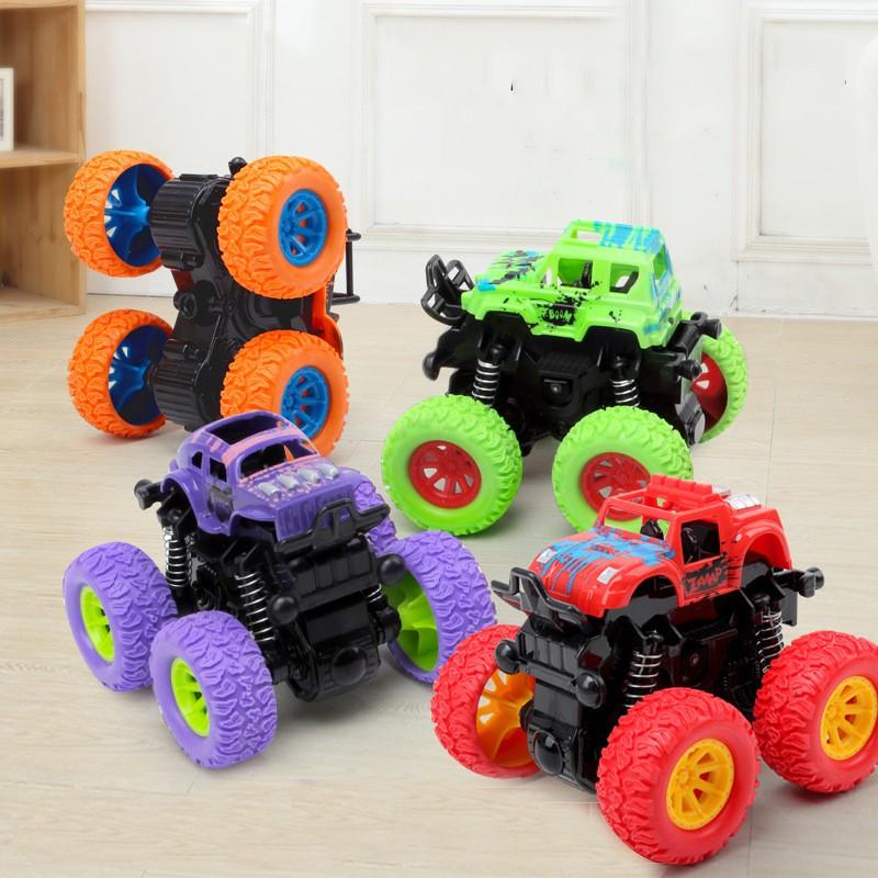 Đồ chơi mô hình xe vượt địa hình bánh đà cao cấp, chất liệu siêu bền cho bé thỏa sức vui