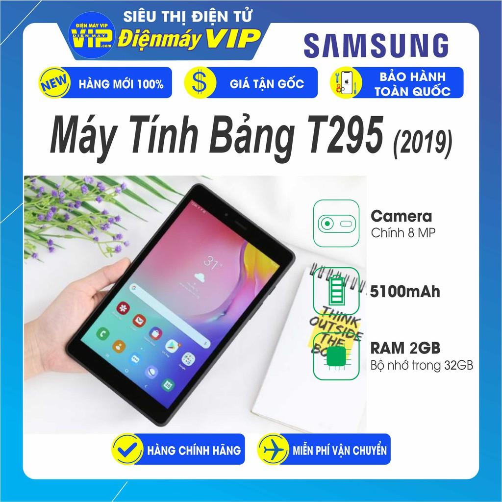 Máy Tính Bảng Samsung Tab A 8.0  (T295) - Hàng chính Hãng - BH 12 tháng Toàn Quốc