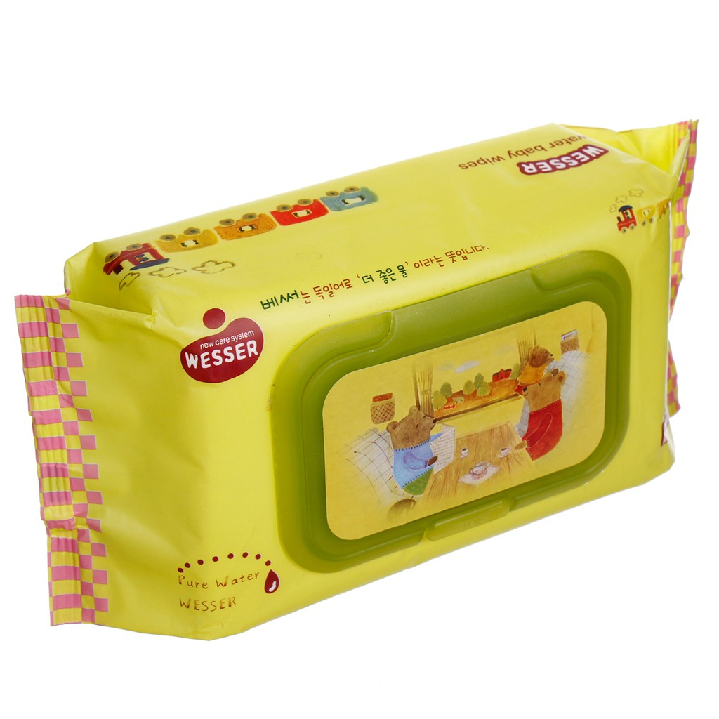 Khăn giấy ướt Wesser Pure Water Baby Wipes 80 tờ - 2984130 , 522927180 , 322_522927180 , 33000 , Khan-giay-uot-Wesser-Pure-Water-Baby-Wipes-80-to-322_522927180 , shopee.vn , Khăn giấy ướt Wesser Pure Water Baby Wipes 80 tờ