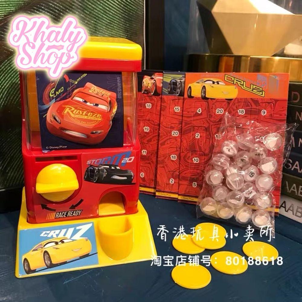 Bộ đồ chơi Bingo Game hình Car Mcqueen Xe hơi Car 95 cho trẻ em - 57CAR50643 (Hồng Kông)
