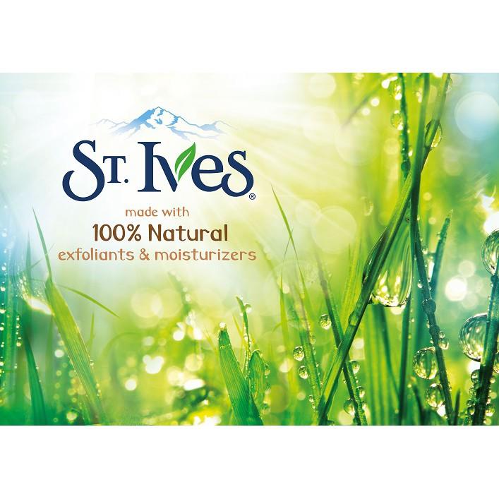 Hình ảnh Sữa rửa mặt tẩy tế bào chết ngăn ngừa mụn St.Ives trái mơ 283gr (dùng được cho body)-3