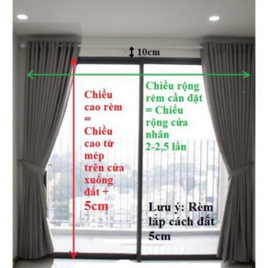 Rèm cửa màu xánh lá, rèm màu xanh lá, rèm cửa sổ màu xanh lá, rèm cửa giá rẻ màu xanh lá