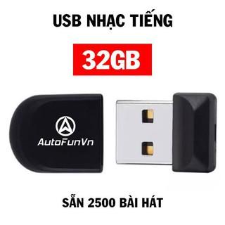 USB 32GB Nhạc Tiếng – 2500 Bài MP3 Cực Hay Dành Cho ÔTô Siêu Rẻ