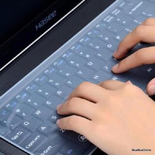 Tấm phủ bàn phím silicon cho laptop từ 13 đến 17 inch thumbnail