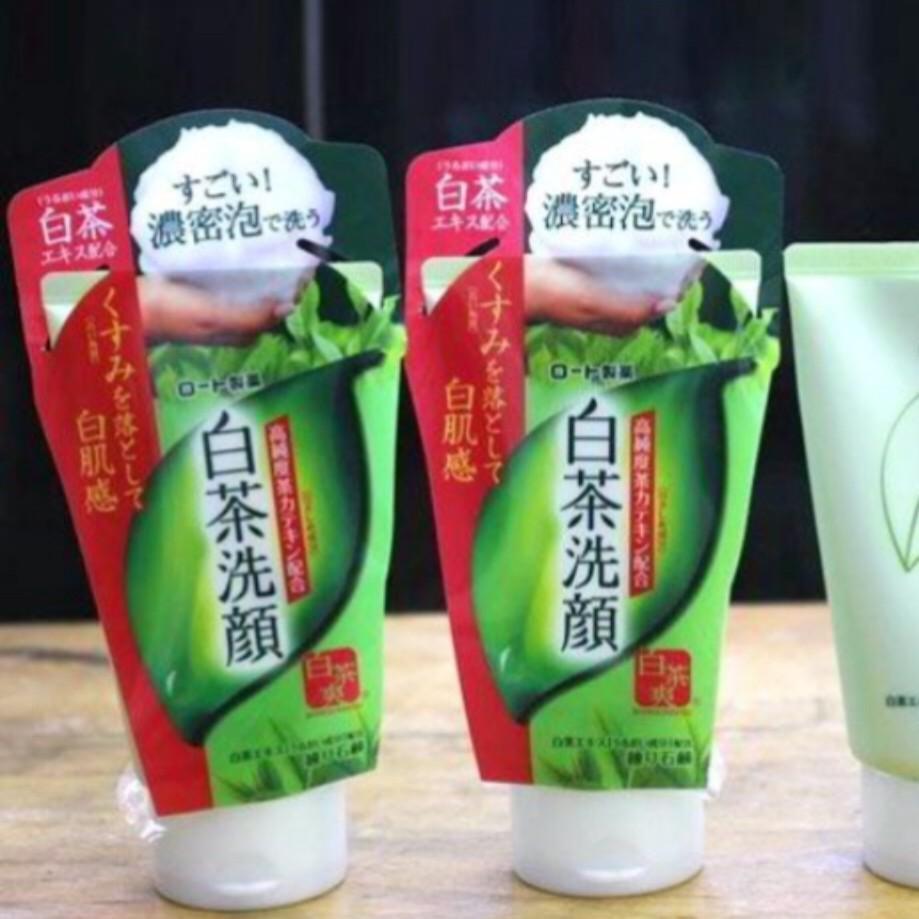Sữa rửa mặt trà xanh Rohto Shirochasou Green Tea Foam 120g hàng nội địa Nhật Bản - 3464445 , 874161370 , 322_874161370 , 105000 , Sua-rua-mat-tra-xanh-Rohto-Shirochasou-Green-Tea-Foam-120g-hang-noi-dia-Nhat-Ban-322_874161370 , shopee.vn , Sữa rửa mặt trà xanh Rohto Shirochasou Green Tea Foam 120g hàng nội địa Nhật Bản