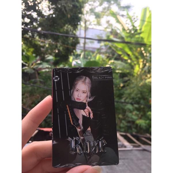 [card trong THE ALBUM] card Rosé siêu xinh