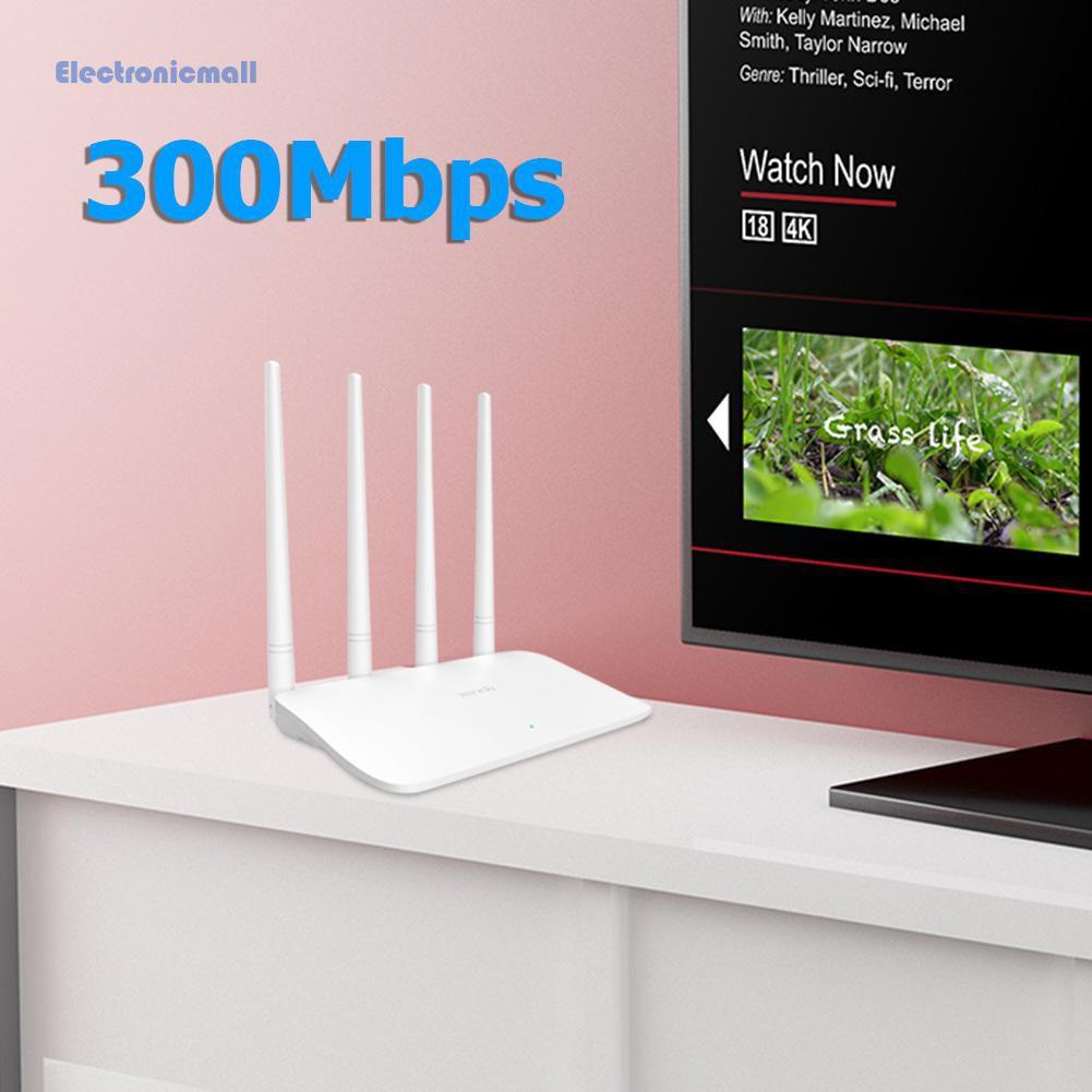 Ăng Ten Thu Sóng Wifi Không Dây Tenda F6 300m 4x 5dbi 2.4ghz