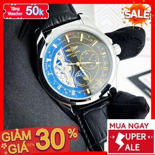 [QUÀ TẶNG] Đồng hồ cơ - Đồng Hồ Nam Dây Da Chống Nước Chống Xước Máy Chuẩn Chất Liệu Cao Cấp UB2010.LO - 1199 Watches