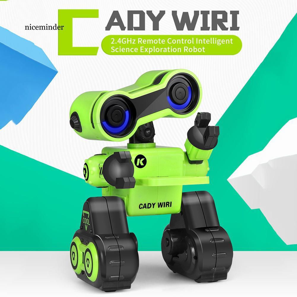 Đồ chơi mô hình robot thông minh CARRY được lập trình sẵn chương trình âm nhạc kiến thức bổ ích cho bé