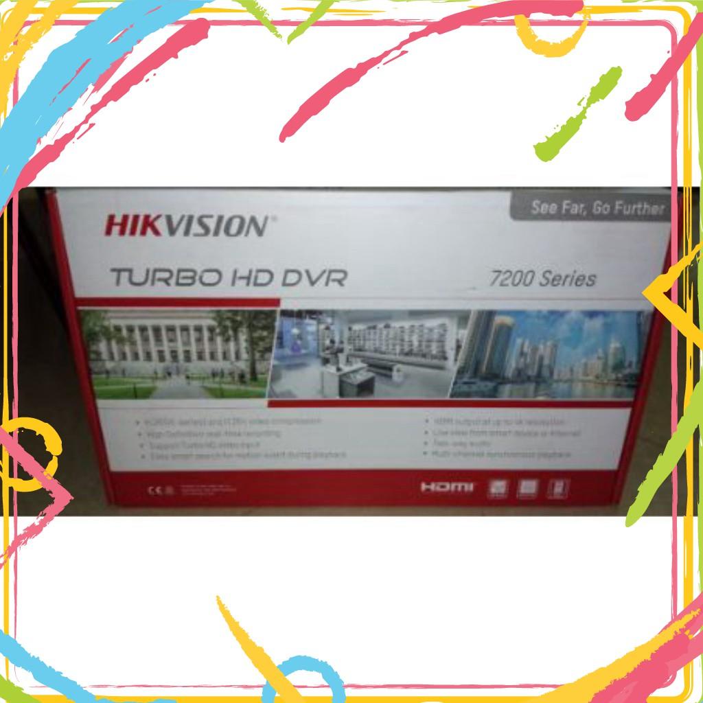 💚 Đầu ghi hình 4 kênh Turbo HD 4.0 Hikvision DS-7204HUHI-K1/UHK - Hàng chính hãng®