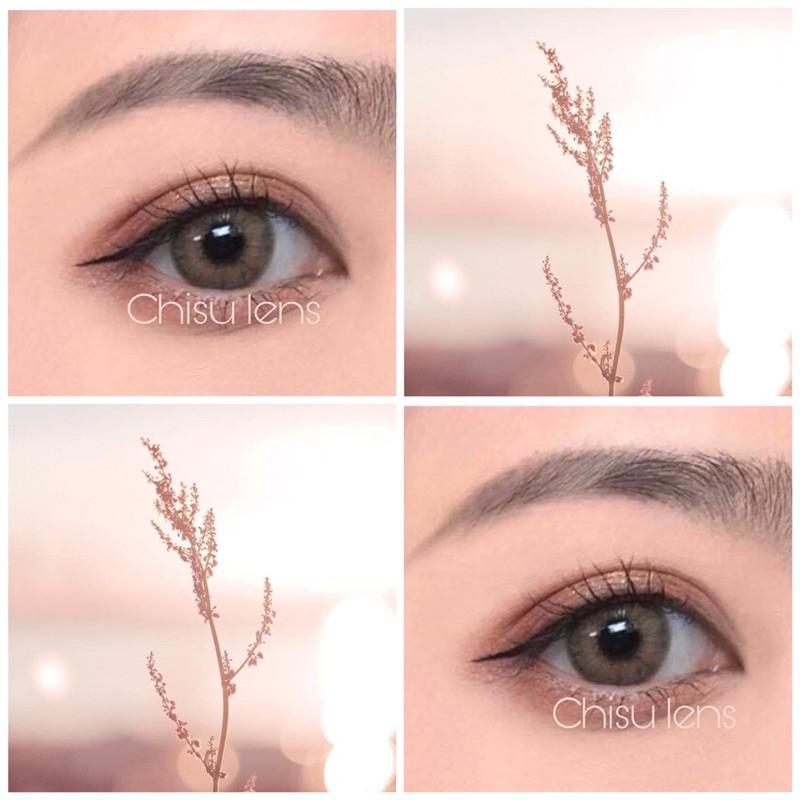 (Hot trend 2021) 10 mẫu lens - kính áp tròng nâu tây tự nhiên sử dụng 12 tháng