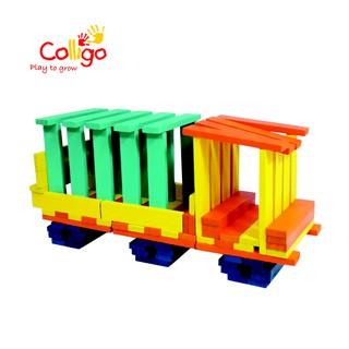 Bộ xếp hình Colligo 100 thanh 4 màu