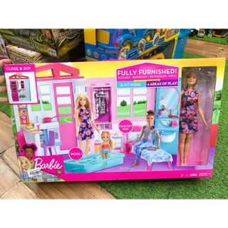 Bộ Đồ Chơi Nhà Búp Bê Barbie Chính Hãng