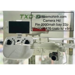 Flycam txd-8s camera HD pin đến 2000mah bay 22p