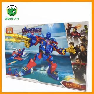 Lego Avenger Assemble 391+ Mảnh Ghép Biệt Đội Siêu Anh Hùng