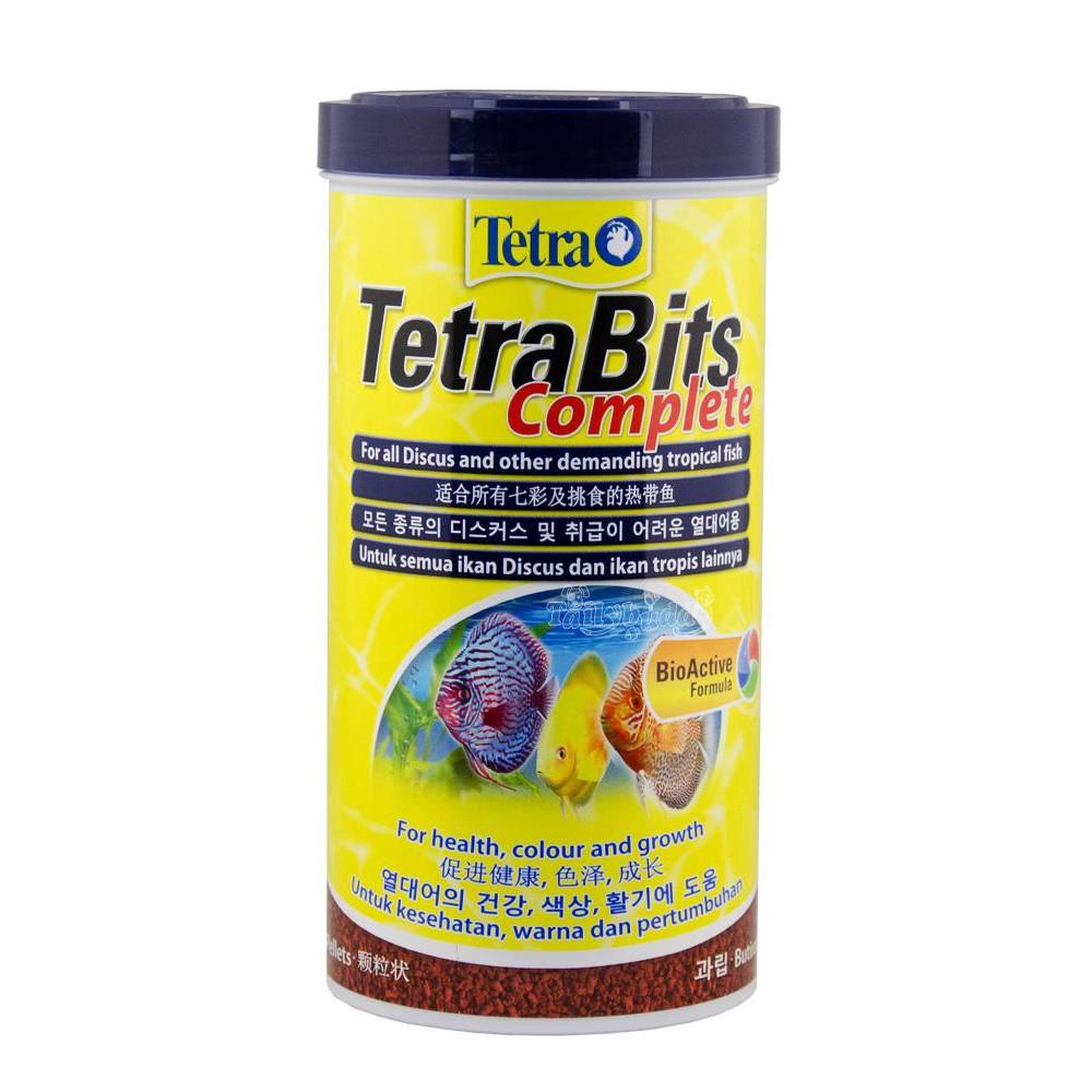 300 กรัม - TetraBits Complete สำหรับปลาปอมปาดัวร์ ปลาเทวดาและปลาสวยงามขนาดเล็กชนิดอื่นๆ (ชนิดเกล็ด)