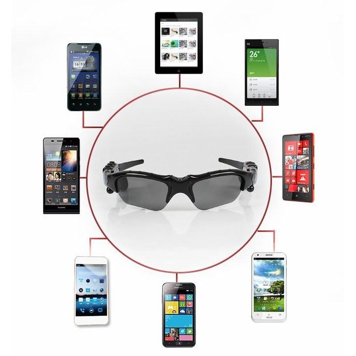 Kính mắt thông minh kiêm tai nghe Bluetooth thế hệ hè 2018