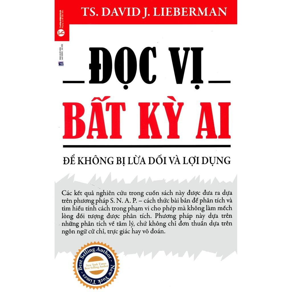[Sách] Đọc Vị Bất Kỳ Ai - Để Không Bị Lừa Dối Và Lợi Dụng