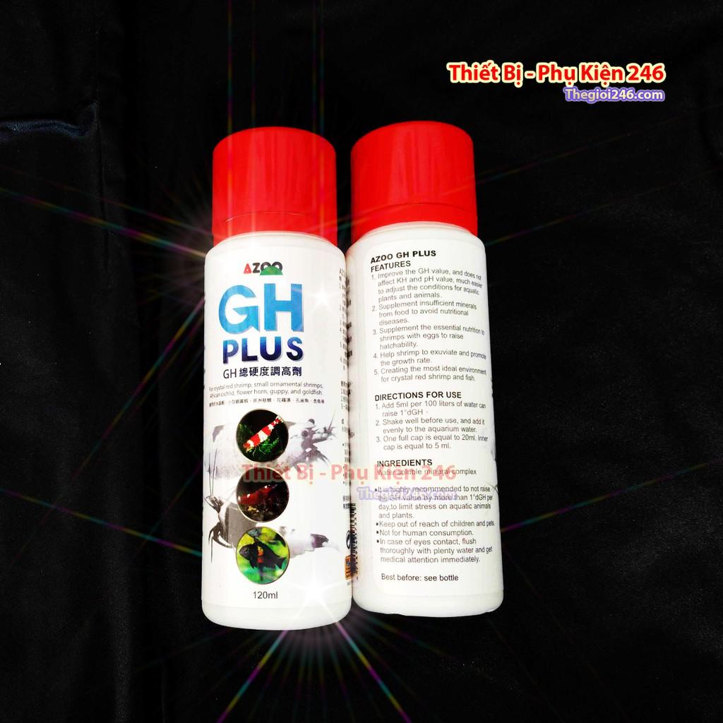 AZOO GH Khoáng cho tép GH Plus là loại khoáng chuyên dụng giúp tăng độ cứng và bóng cho tép cảnh