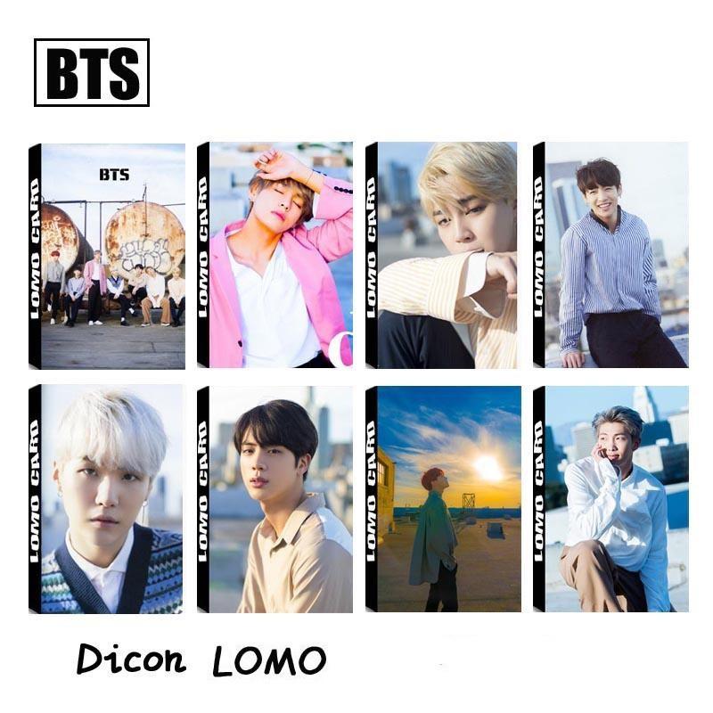Hộp 30 lomo Dicon BTS