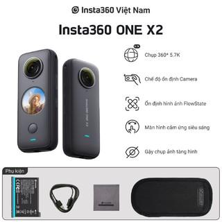 Máy quay kỹ thuật số cầm tay Insta360 ONE X2 Hàng chính hãng thumbnail