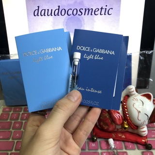 [vial] Nước hoa D&G Light Blue Pour Femme Dolce & Gabbana Light Blue Pour Femme EDT 1.5ml nữ thumbnail