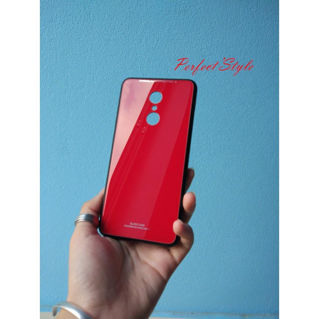 Ốp lưng mặt kính cường lực Xiaomi Redmi 5