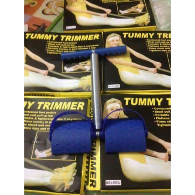 Dây kéo tập lưng bụng Tummy Trimer