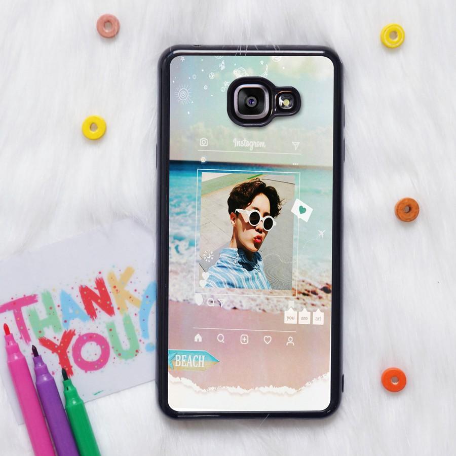 Ốp lưng BTS #J-Hope Summer Beach CODE02 cho các dòng điện thoại iPhone, Samsung, Oppo