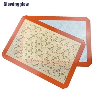 Wingg Nonstick Silicone Mat Baking Oven Pastry Liner Macaron Cake Sheet Kitchen Super