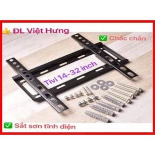 Giá treo tivi sát tường từ 14 đến 24 inch, khung treo ti vi đơn giản dễ lắp đặt