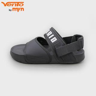 Giày Sandal Vento Nam Nữ - New Collection 2020 - HB FL17 - Quai Tro (Xám Đậm)