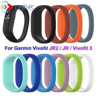 Dây Đeo Silicon Mềm Cho Đồng Hồ Thông Minh Garmin Vivofit Jr 2 / Vivofit 3
