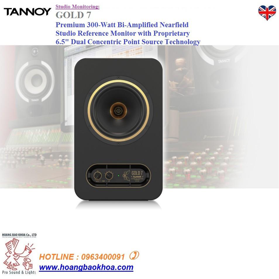 Loa Monitor TANNOY GOLD 7 -Acitive 300-Watt Bi-Amplified