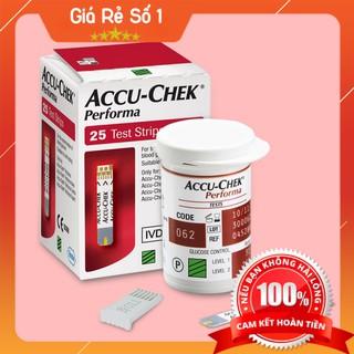 Que thử đường huyết Accu Check Performa 50 que - Hàng Nhập khẩu Chính hãng mới nhất 2020 thumbnail