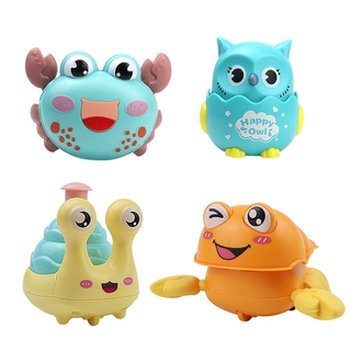 Pressing inertial sliding owl snail Small toy random style color Cartoon Kindergarten Children's Gift for Cute Kids Educational