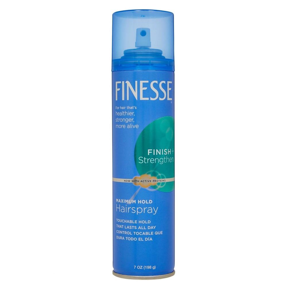Keo xịt tóc giữ nếp mạnh tối đa Finesse Maximum Hold Aerosol Hairspray 198g - 2915794 , 120001484 , 322_120001484 , 219000 , Keo-xit-toc-giu-nep-manh-toi-da-Finesse-Maximum-Hold-Aerosol-Hairspray-198g-322_120001484 , shopee.vn , Keo xịt tóc giữ nếp mạnh tối đa Finesse Maximum Hold Aerosol Hairspray 198g